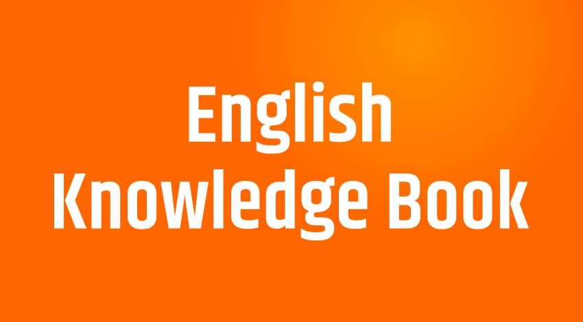 English Hindi Knowledge book 1